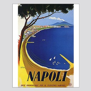 Vinatge Tourism Poster for Naples, Italy Posters