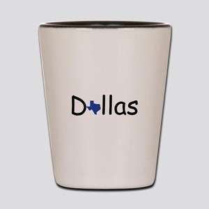Dallas Texas Shot Glass