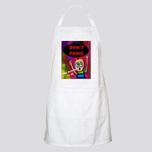 Don't Panic - The Answer is 42 Light Apron