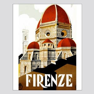Vintage Firenze Italy Tourism Poster Posters