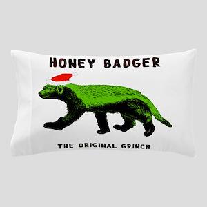 Honey Badger, The Original Grinch Pillow Case