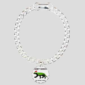 Honey Badger, The Origin Charm Bracelet, One Charm