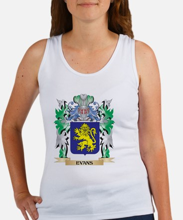 Evans Coat of Arms (Family Crest) Tank Top