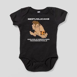 Neanderthals Baby Bodysuit