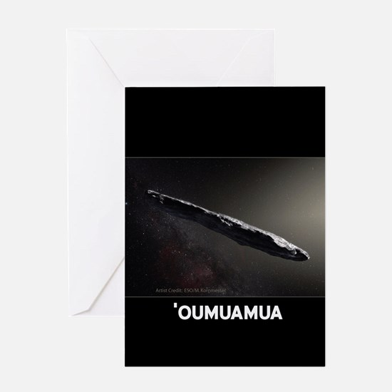 'Oumuamua A/2017 Greeting Cards