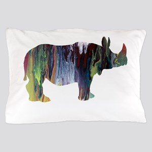 Rhinoceros Pillow Case