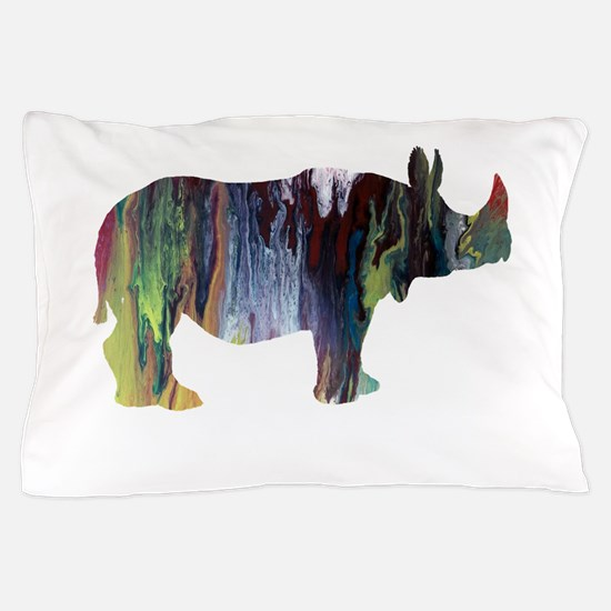 Rhinoceros Pillow Case
