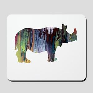 Rhinoceros Mousepad