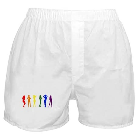 Rainbow of Women Boxer Shorts