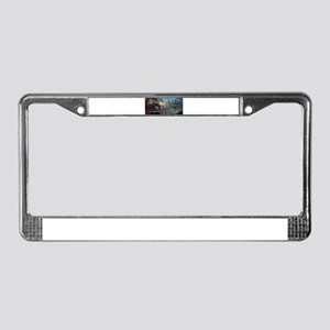 Fantasy Train License Plate Frame