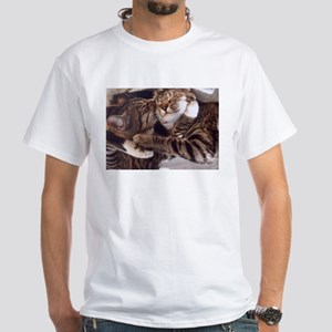 Cute kittens hugs and kisses T-Shirt