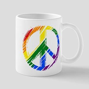 lgbt peace Mugs