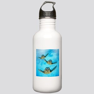 Baby Turtles in the Se Stainless Water Bottle 1.0L