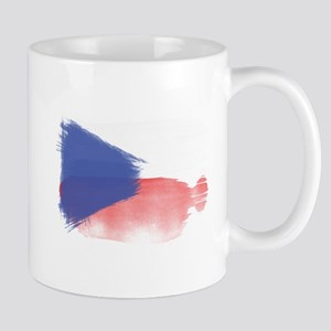 czech flag republic Mugs