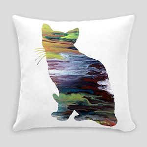 Siamese Cat Everyday Pillow