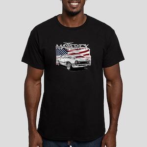 Maverick Men's Fitted T-Shirt (dark)