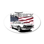 Maverick 35x21 Oval Wall Decal