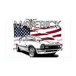 Maverick 35x21 Wall Decal