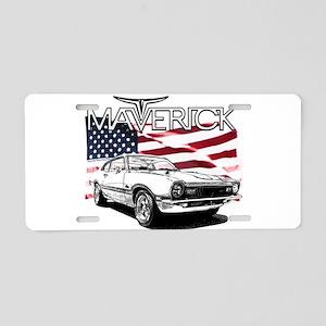 Maverick Aluminum License Plate