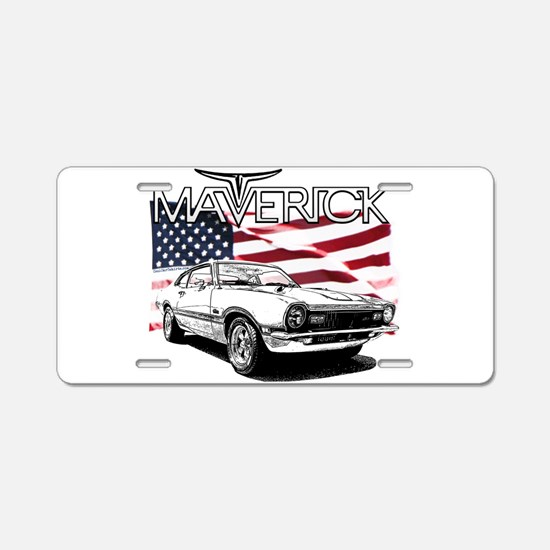 Maverick Aluminum License Plate