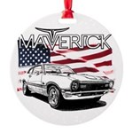 Maverick Round Ornament