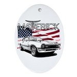 Maverick Oval Ornament