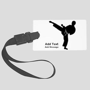 Martial Arts Luggage Tag