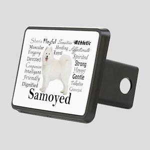 Samoyed Traits Hitch Cover