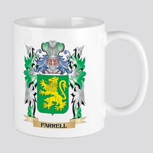 Farrell Coat of Arms (Family Crest) Mugs