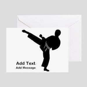 Martial arts greeting cards cafepress martial arts greeting cards m4hsunfo