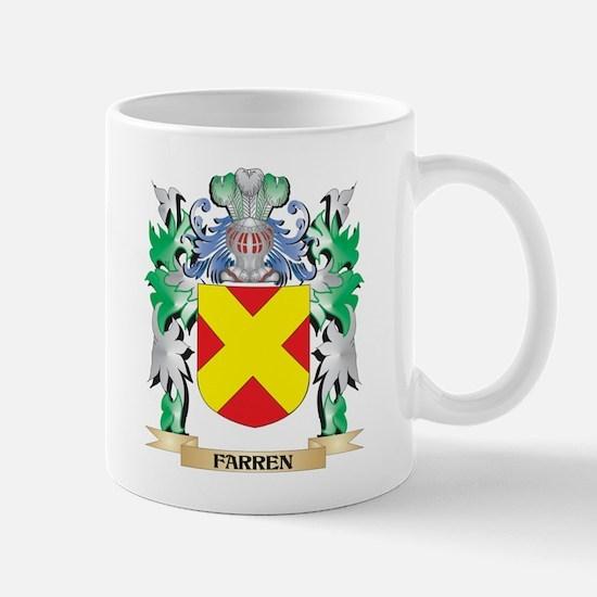 Farren Coat of Arms (Family Crest) Mugs