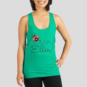 Ladybug Ellen Racerback Tank Top