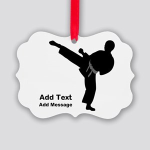 Martial Arts Ornament