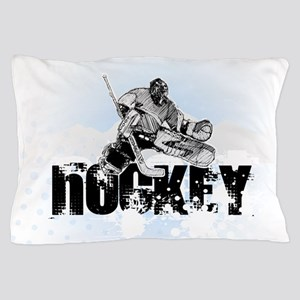 Hockey Player Pillow Case
