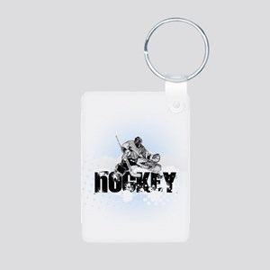 Hockey Player Keychains
