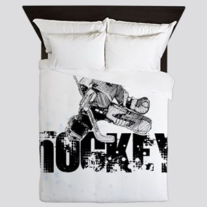 Hockey Player Queen Duvet