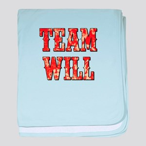 TEAM WILL baby blanket