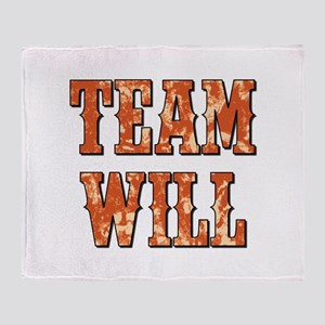 TEAM WILL Throw Blanket