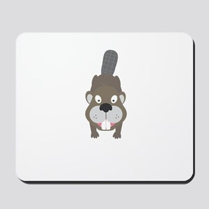 Cute Beaver Mousepad