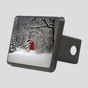 Red Barn in the Snow 2011 Hitch Cover
