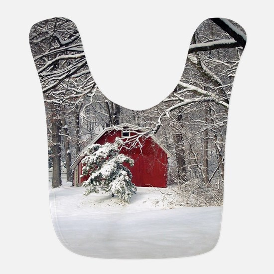 Red Barn in the Snow 2011 Bib