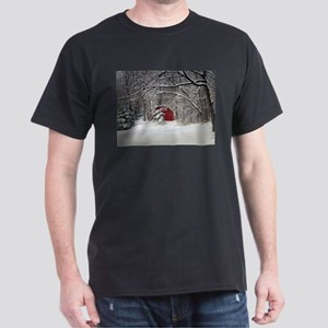 Red Barn in the Snow 2011 T-Shirt