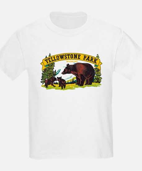 Yellowstone Bears T-Shirt