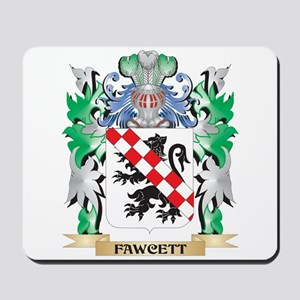 Fawcett Coat of Arms (Family Crest) Mousepad