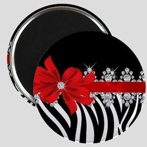 Zebra (red) Magnet