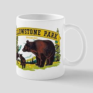 Yellowstone Bears Mugs