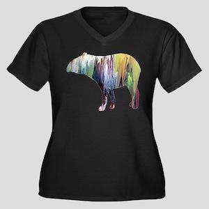 Tapir Plus Size T-Shirt