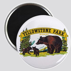 Yellowstone Bears Magnets