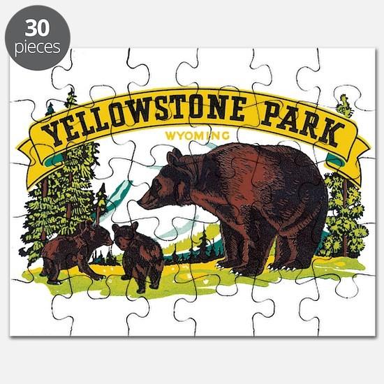 Yellowstone Bears Puzzle