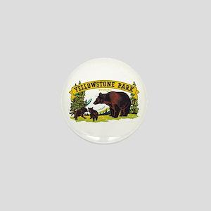 Yellowstone Bears Mini Button (10 pack)